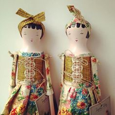 Sophie Tilley dolls.