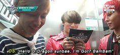 Aww BIGBANG and BamBam