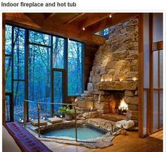 indoor fireplace and spa   fabuloushomeblog.comfabuloushomeblog.com