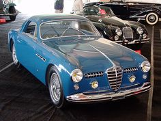 1950 ALFA ROMEO 6C 2500 SS SUPERGIOIELLO - commission by Carrozzeria Ghia of Turin. #alfa #alfaromeo #italiandesign