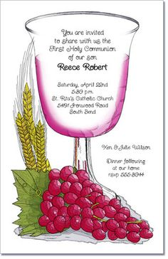 Communion+Cup+Invitations+are+perfect+for+your+  child's+first...