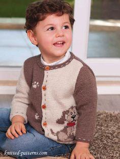 Child's jacket knitting pattern free