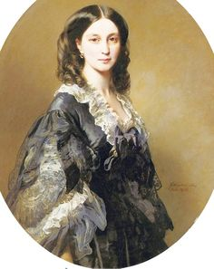 Елизавета Александровна Чернышева, княгиня Барятинская (1826-1904),1858