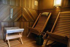 Nils bastu Saunas, Outdoor Furniture, Outdoor Decor, Finland, Sun Lounger, Relax, Bathroom, Travel, Home Decor