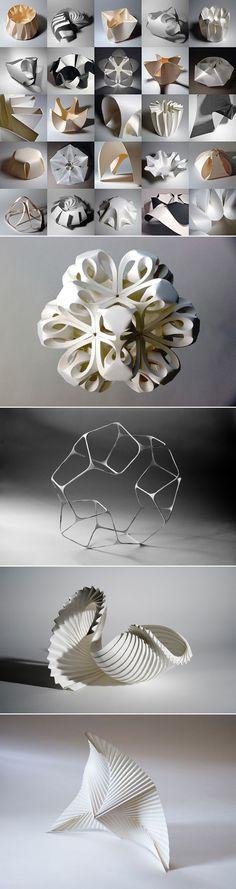 RichardSweeney_PaperSculptures