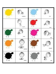 colores bimodal e1390406288326 Apoyos visuales en la escuela : 10 ventajas Sign Language Alphabet, Sign Language Interpreter, Signs, Education, Sign Language, Audio, Dibujo, Baby Sign Language, Learn Sign Language