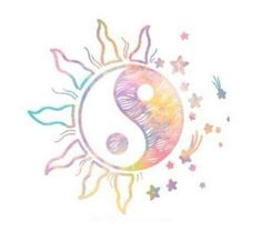 I would love this as a tattoo, especially with the water color. to be happy in life, you must be balanced within