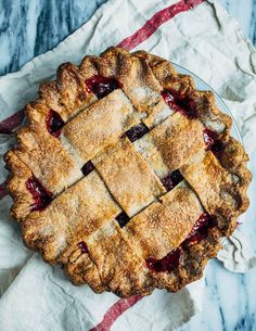 rye crust sour cherry pie // brooklyn supper