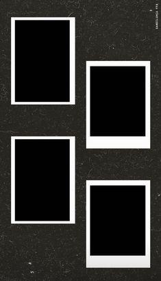 Photo Frame Wallpaper, Framed Wallpaper, Polaroid Picture Frame, Polaroid Pictures, Polaroids, Picture Frames, Photo Collage Template, Picture Templates, Photo Instagram