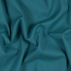 Dark Teal Stretch Cotton Crepe-320102-11