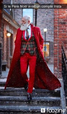 The Ritz-Carlton Fashion Santa Tour is Coming to Boston Beard Quotes, Have A Happy Holiday, Holiday Fashion, Female Bodies, Style Icons, Mens Fashion, Style Fashion, Fashion Trends, Shit Happens