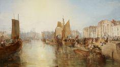 Les ports peints parTurner, le maître incontesté de la lumière, sont présentés à la Frick Collection (New York) à partir de ce jeudi 23 février 2017. Au cœur de la présentation figure le port de Dieppe, réalisé en 1825.