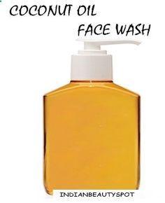 DIY coconut oil face wash for radiant wrinkle free skin - I cant get enough coconut oil!