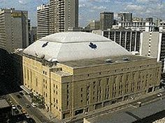 Maple Leaf Gardens evokes a history of hockey in the city and the past glory days of the Maple Leafs. Though the Gardens is now owned by Loblaws, this landmark still embodies Toronto and Canada's hockey values. History Of Hockey, Canada Hockey, Hockey Rules, Sports Stadium, National Hockey League, Toronto Maple Leafs, Toronto Canada, Ice Hockey, Ontario