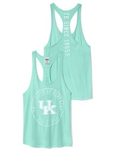 PINK University of Kentucky Racerback Tank #VictoriasSecret http://www.victoriassecret.com/pink/university-of-kentucky/university-of-kentucky-racerback-tank-pink?ProductID=122474=OLS?cm_mmc=pinterest-_-product-_-x-_-x