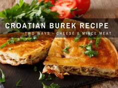 You can't miss trying burek when in the Balkans - and you'll fall in love. So, here is an easy to make Croatian burek recipe. You can't miss trying burek when in the Balkans - and you'll fall in love. So, here is an easy to make Croatian burek recipe. Bisquick Quiche Recipe, Quiche Recipes, Savoury Recipes, Balkan Food, Burek Recipe, Croation Recipes, Croatian Cuisine, Serbian Recipes, Serbian Food