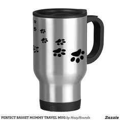 PERFECT BASSET MOMMY TRAVEL MUG  http://www.zazzle.com/perfect_basset_mommy_travel_mug-168043390400432531?design.areas=%5Bzazzle_mug_travel15_front%5D&view=113283791992831101&rf=238588924226571373