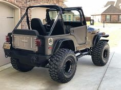 Cj Jeep, Jeep Wrangler Yj, Jeep Cars, Jeep 4x4, Jeep Wrangler Unlimited, Jeep Truck, Badass Jeep, Toyota, Cool Jeeps