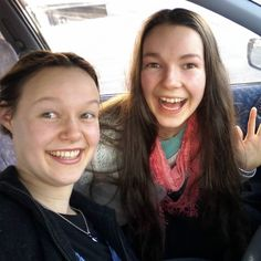 Passed my full licence yesterday! First passenger was Danella... here we are selfie-ing the moment cos if you don't selfie the moment it definitely didn't happen. #firstfulllicencepassengerselfie #driveawayinstyle #sistersforever