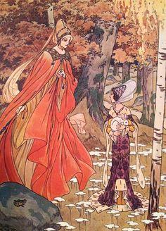 Contes Blancs de Jules Lemaitre Illustrés par Henri Morin. Boivin & Cie, Éditeurs Paris. .1924. Le lapin blanc et les trèfles à quatre feuilles