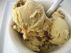 Maple Walnut Ice Cream recipe by David Lebovitz. This was a surprisingly yummy ice cream. I loved the texture of the ice cream itself and the walnuts.