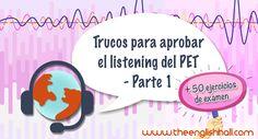 Tras los anteriores consejos sobre cómo mejorar el listening y aprobar un examen oficial, hoy nos centramos en cómo aprobar el listening del PET - Parte 1.