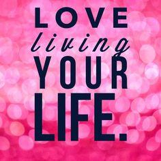#lovelivingyourlife www.lizlundeen.origamiowl.com #positivity