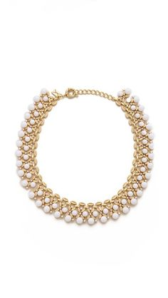 Amazing necklace and nice price. So great with a LBD or a crisp white collared shirt.