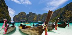 Explore Thailand on the water.