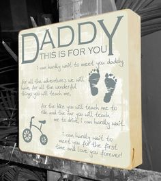 New Dad Gifts For Parents Baby Shower Gift Personalized