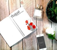 Poppies, poppies everywhere... What about this? 😊 - @evoletjournal  Link in BIO!  #bulletjournal #bulletjournaladdict… Important Dates, Bujo, Poppies, Addiction, Bullet Journal, Link, Books, Libros, Book