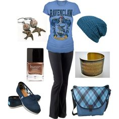 Ravenclaw, created by linzrebecca on Polyvore