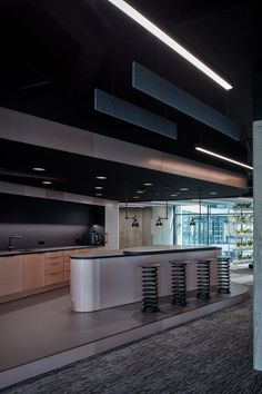 LIVESPORT – Offices Like A Machine Driven By Pilots - Picture gallery 1 Office Interior Design, Office Interiors, Workplace Design, Cool Rooms, Studio, Gallery, Pilots, Prague, Boutiques