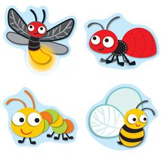 Carson Dellosa - Buggy For Bugs Stickers Cubby Tags, Prize Box, Carson Dellosa, Bugs And Insects, Chenille, Classroom Themes, Kindergarten Classroom, Coordinating Colors, Free Stickers