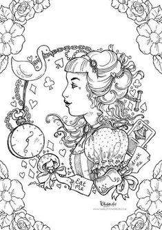Алиса в Стране Чудес | 13 фотографий