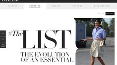 Harper's Redesigns Its Web Site and Embraces Branded Content Beauty Shop, Ny Times, Evolution, Nice Dresses, Advertising, Content, Website, Shopping, Cute Dresses