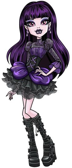 Monster High: Elissabat! Elissabat is a famous Vampire actress, who performs under the name Veronica Von Vamp, and the current Queen of the Vampires. She is a close friend of Draculaura.