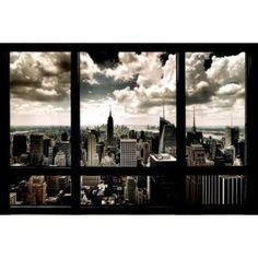 (24x36) New York City Window Art Print Poster (Kitchen)  http://www.amazon.com/dp/B005IX78LI/?tag=pinterest123-20