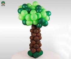 Balloon Tree - step by step Photo tutorial - Bildanleitung
