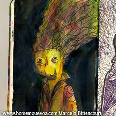 Marcelo Bittencourt - #illustration  #sketchbook