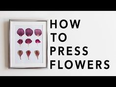 Must-see DIY pressed flower projects that would be perfect for gifts. Pressed flower art, phone case, and necklace ideas that are cheap & easy to make.