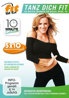 Kickstart 2015: Fit for Fun – 10 Minute Solution: Tanz dich fit Fitness DVD | Sports Insider Magazin