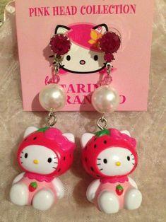 Sanrio Hello Kitty, Hello Kitty My Melody, Kawaii Jewelry, Kawaii Accessories, Cute Jewelry, Hello Kitty Accessories, Hello Kitty Jewelry, Hello Kitty Items, Hello Kitty Things