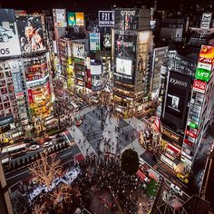 Rooftop with best view on the Shibuya Crossing❌