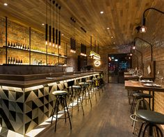 The Milton bar & restaurant by Biasol Design Studio (AU)