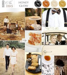 Honey Glow Inspiration Board