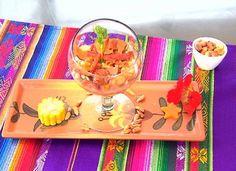 Ceviche de Tilápia. Ceviche . Peruano Abrasileirado (Foto: Reprodução/ RPC). http://gshow.globo.com/RPC/Plug/noticia/2016/01/aprenda-duas-receitas-diferentes-do-tradicional-ceviche-de-tilapia.html