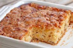 Apple Cake Recipes, Yummy Recipes, Sweet Recipes, Baking Recipes, Dessert Recipes, Yummy Food, Apple Cakes, Healthy Apple Cake, Kosher Recipes