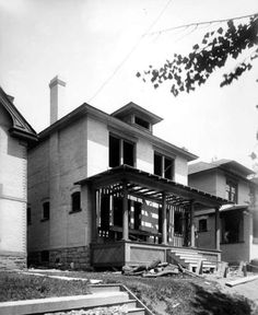 A house on 1st Avenue between O and P Streets, 1909. Courtesy Utah State Historical Society