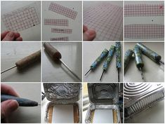 Tutorial for button hole placement from Lisa Clarke
